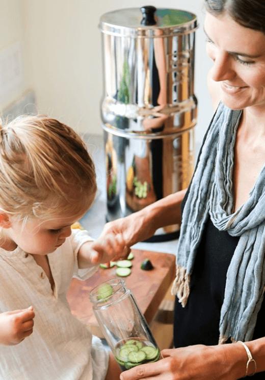 Lapselle puhdasta Berkey vettä